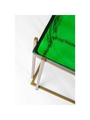 Kare Design Lagoon Bijzettafel - Set van 2 - Groen Glas
