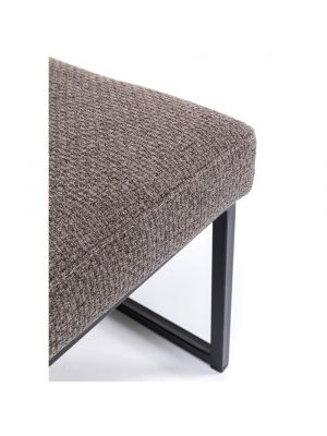 Kare Design Smart Dolce Eetbank - B90 x D40 x H40 cm - Stof Bruin