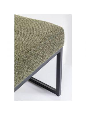 Kare Design Smart Dolce Eetbank - B90 x D40 x H40 cm - Stof Groen