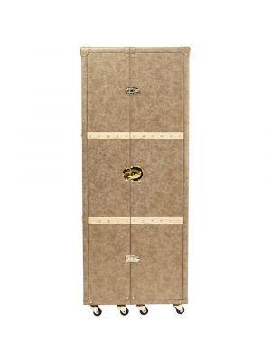 Kare Design West Coast Barkast - B60x D60 x H154 cm - Taupe Kunstleer