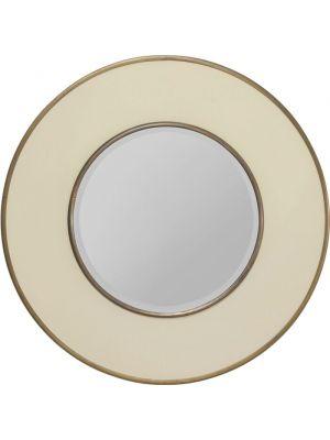Kare Design Spiegel Ronde Lens Ø60cm - Wit