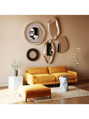 Kare Design Wandspiegel Elsa - H70 x B120cm