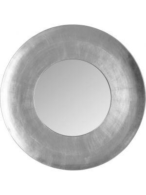 Kare Design Wandspiegel Planet  - Ø108cm - Zilver