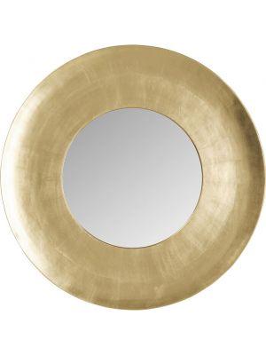 Kare Design Wandspiegel Ronde Planet - Ø108cm - Goud