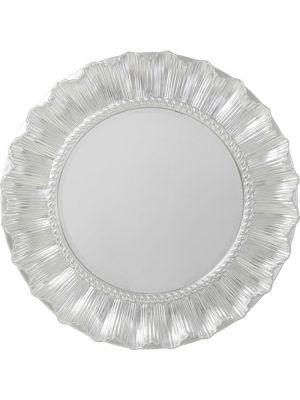 Kare Design Wandspiegel Sun Ray Ø84cm - Zilver