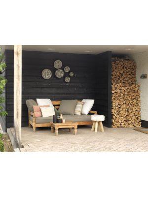 Exotan Kawang Vierkante Koffietafel – Outdoor - Teakhouten – L90 x B90 x H30 cm