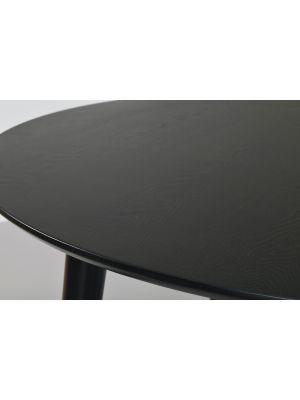 Rowico Lotta Eettafel Rond - Ø106 x 75 cm - Zwart