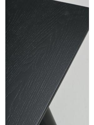 Rowico Lotta Eettafel - L140 x B90 x H75 cm - Zwart