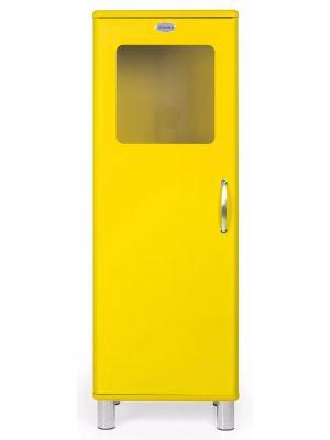 Tenzo Vitrinekast Malibu Small 1-Deurs - B50 x D41 x H143 - Geel