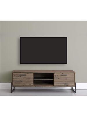 24Designs Mallorca TV-meubel - B152 x D45 x H50 cm - Massief Acaciahout