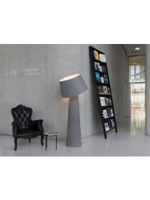 Moree Alice Vloerlamp met multicolor LED - Ø70 x H172 cm - Grijs