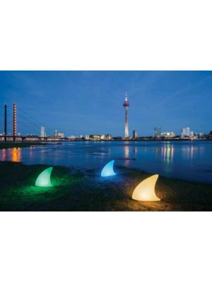 Moree Shark Outdoor LED Vloerlamp met Accu - L70 x B19,5 cm