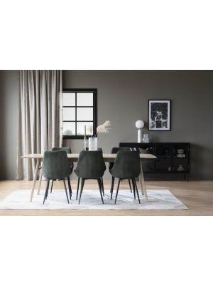 Rowico Nevis Verlengbare Eettafel - Whitewash Blad - L220 x B90 x H75 cm