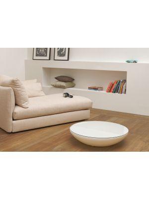 Moree Lounge Variation Indoor Salontafel - Ø84 x H18 cm - Wit