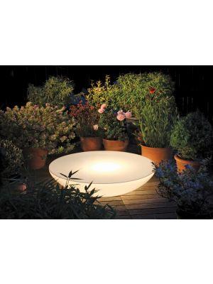 Moree Lounge Variation Outdoor Salontafel - Ø84 x H18 cm - Wit