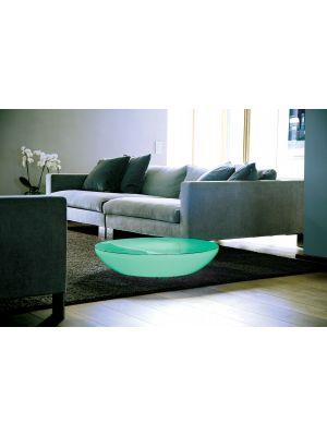 Moree Lounge Variation Indoor LED Pro Salontafel - Ø84 x H18 cm - Wit