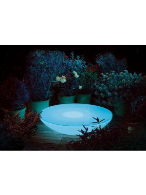 Moree Lounge Variation Outdoor LED Pro Salontafel - Ø84 x H18 cm