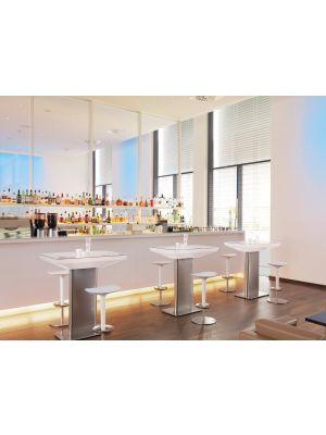 Moree Studio Indoor Bartafel - L100 x B70 x H105 cm - Wit