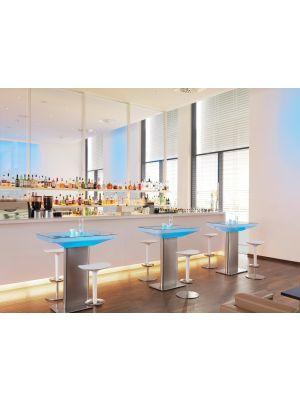 Moree Studio Indoor LED Pro Bartafel - L100 x B70 x H105 cm