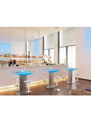 Moree Studio Indoor LED Pro Bartafel met Accu - L100 x B70 x H105 cm