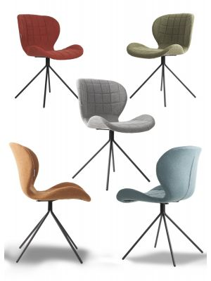 Zuiver Stoel OMG Stof - 10 stoelen Aanbieding - NU met Gratis vloerdoppen