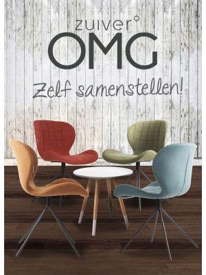 Zuiver Stoel OMG Stof - 12 stoelen Mix aanbieding + Gratis bijzettafel t.w.v. € 79,-