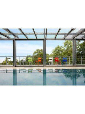 SCAB Sai Tuin en Terrasstoel - Set van 6 - Terracotta
