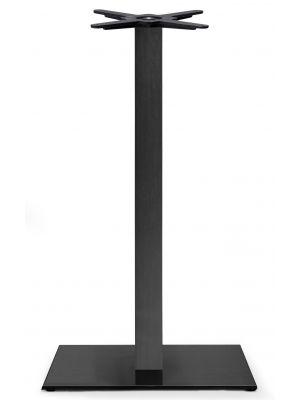SCAB Tafelonderstel Tiffany - H109 cm - Rechthoekige Voetplaat - Zwart