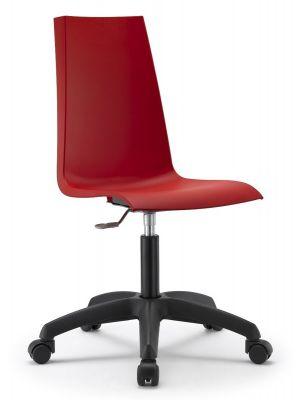 SCAB Mannequin Bureaustoel - Set van 2 - Rood