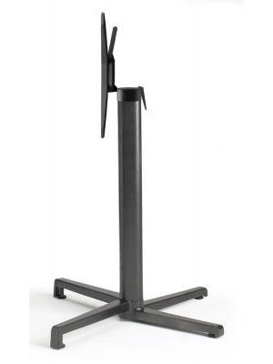 SCAB Klapbaar Tafelonderstel Domino - H73 cm - Vierkante kolom - Antraciet grijs