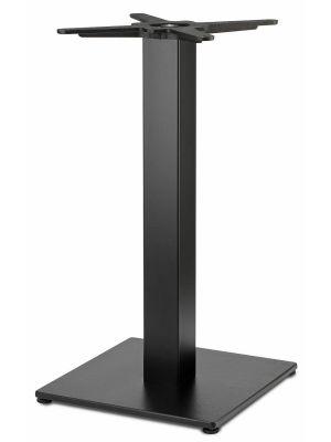 SCAB Tiffany Outdoor Tafelonderstel Square - H73 cm - Zwart Verzinkt