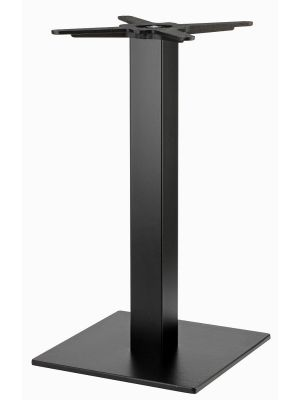 SCAB Tiffany Tafelonderstel - H73 cm - Square - Zwart