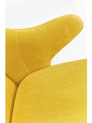 Kare Design - Schommelstoel Fjord - Mosterd Gele Stof