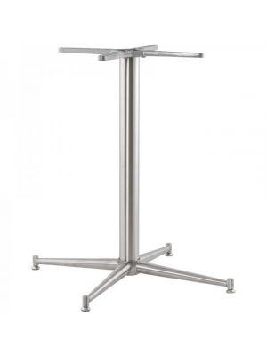 24Designs Tafelonderstel Logan - Hoogte 75 cm - RVS