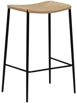 Dan-Form Stiletto Counter Barkruk – Set van 2 - Zithoogte 65 cm – Naturel