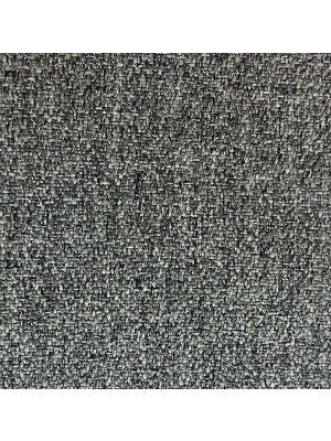 24Designs Bureaustoel Dublin - Stof Grijs Gemêleerd - Zwarte Kruispoot