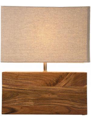 Kare Design Wood Nature Tafellamp - B35 x D15 x H43 cm