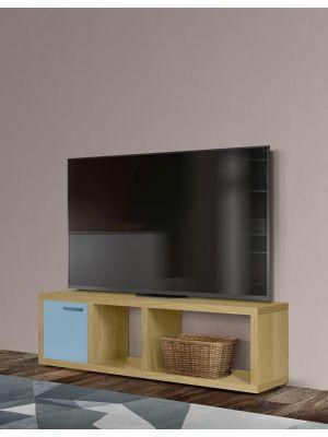 TemaHome Berlin Tv-Meubel - B150xD34xH45 cm - Eiken