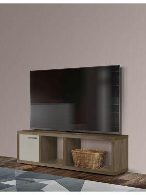 TemaHome Berlin Tv-Meubel - B150xD34xH45 cm - Walnoot
