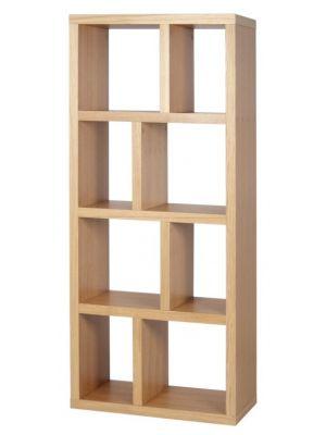 TemaHome Boekenkast Berlin 4 Levels - B70 x D34 x H159 cm - Eiken