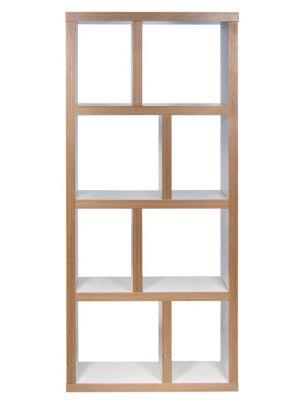 TemaHome Boekenkast Berlin 4 Levels - B70 x D34 x H159 cm - Mat Wit Multiplex
