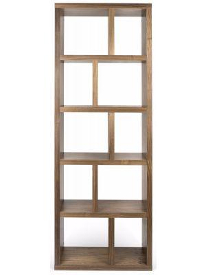 TemaHome Boekenkast Berlin 5 Levels - B70 x D34 x H198 cm - Walnoot