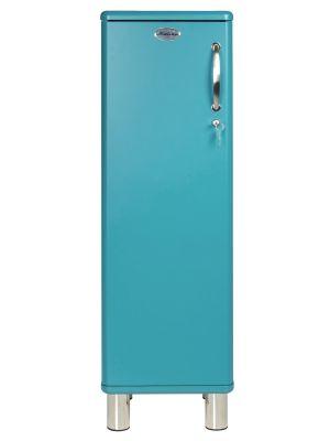 Tenzo Afsluitbare Kast Malibu 1-Deurs - B35 x D34 x H111 - Ocean Blue
