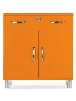 Tenzo Kast Malibu 1-Lade - 2-Deurs - B86 x D41 x H92 - Oranje