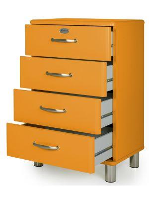 Tenzo Ladekast Malibu 4-Laden - 60x41x92 - Oranje