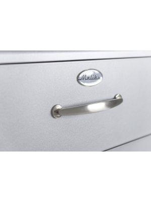 Tenzo Ladekast Malibu 5-Laden - B86 x D41 x H111 - Aluminium