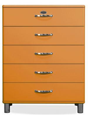 Tenzo Ladekast Malibu 5-Laden - B86 x D41 x H111 - Oranje