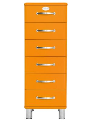 Tenzo Ladekast Malibu 6-Laden - B41 x D41 x H111 - Oranje