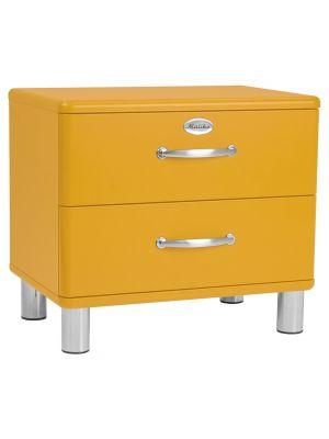 Tenzo Malibu Ladekastje - 2-Laden - B60 x D41 x H54 cm - Oranje