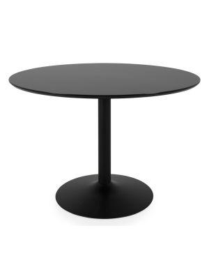 Ronde Tafel Zwart Onderstel.Ronde Eettafel Direct Leverbaar Designonline24